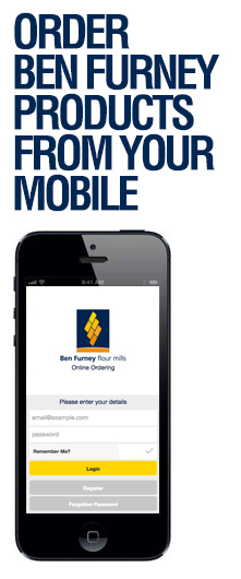 Order Ben Furney Products from your Mobile